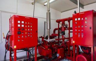 Serwis systemów przeciwpożarowych